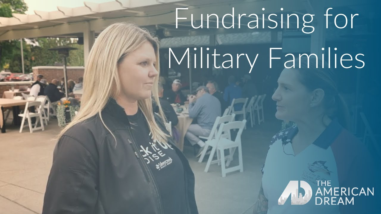Fundraising for Military Families – Michelle Colton – The American Dream – Boise